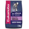 Ração Eukanuba Cães Sênior Raças Médias 7,5kg