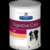 Ração Hills Prescription i/d Gastrointestinal Health Canine Lata 370g