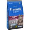 Ração Premier Gatos Adultos Pelos Longos Ambientes Internos Frango 7,5kg