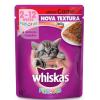 Alimento Úmido Whiskas Sachê Carne Jelly Gatos Filhotes 85g