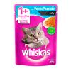 Alimento Úmido Whiskas Sachê Jelly Peixe Gatos Adultos 85g