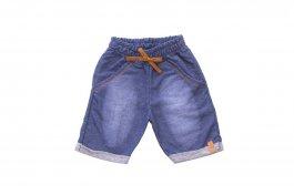 Imagem - Bermuda Bebê Menino Moletinho Jeans