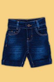 Imagem - Bermuda Jeans Bebê Menino