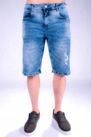 Imagem - Bermuda Jeans Masculina