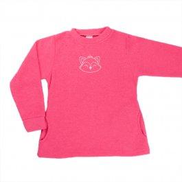 Imagem - Blusão Bouclê Infantil Menina Pink com Bordado