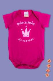 Imagem - Body Cotton Bebê Menina Estampado Princesa