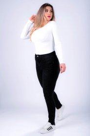 Imagem - Calça Jeans Feminina Cigarrete com Pedras