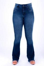 Imagem - Calça Jeans Feminina Flare