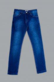 Imagem - Calça Jeans Juvenil Masculina com Bolsos