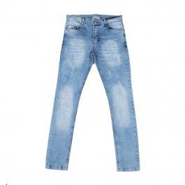 Imagem - Calça Jeans Juvenil Menino com Puídos