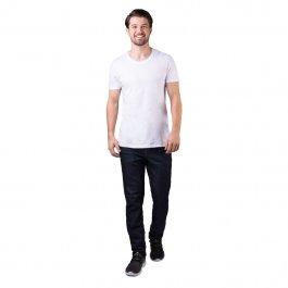 Imagem - Calça Jeans Masculina Slim Escura Amaciada