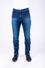 Imagem - Calça Jeans Masculina Slim Escura Blue-Black