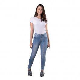 Imagem - Calça Jeans Feminina Cigarrete