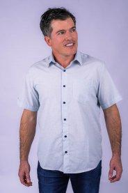 Imagem - Camisa Tradicional Masculina Manga Curta
