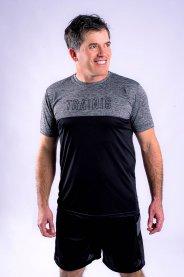 Imagem - Camiseta Dry Fit Masculina Manga Curta Preto
