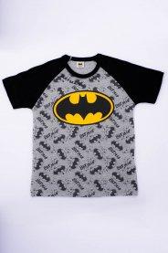 Imagem - Camiseta Infantil Menino Estampa MiniPrint Batman