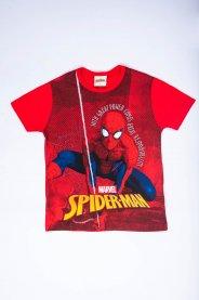 Imagem - Camiseta Infantil Menino Estampa Spider-Man