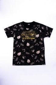 Imagem - Camiseta Infantil Menino Estampa Star Wars