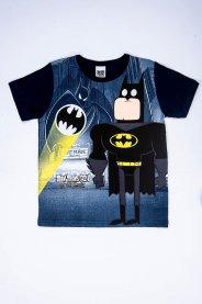 Imagem - Camiseta Infantil Menino Estampada Batman Jovens Titãs