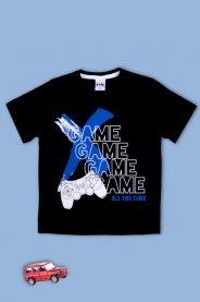 Imagem - Camiseta Infantil Menino Estampada Game