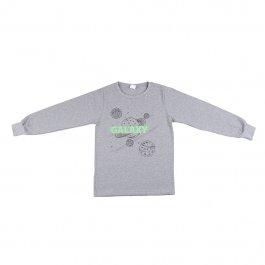 Imagem - Camiseta Infantil Menino Mescla Estampa Galaxy