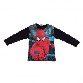 Imagem - Camiseta Infantil Menino Preta Estampa Spiderman