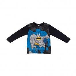 Imagem - Camiseta Infantil Menino Preto Estampa Batman