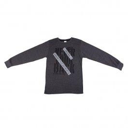 Imagem - Camiseta Juvenil Menino Chumbo com Estampa