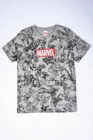 Imagem - Camiseta Juvenil Menino Estampa Marvel