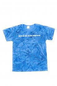 Imagem - Camiseta Juvenil Menino Estampada Folhas