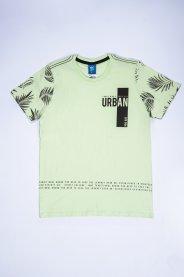 Imagem - Camiseta Juvenil Masculina Estampada Urban Folhas