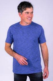Imagem - Camiseta Masculina Manga Curta Azul