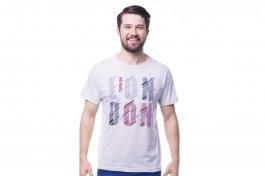 Imagem - Camiseta Masculina Manga Curta Gola Redonda Com Estampa