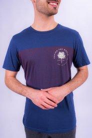 Imagem - Camiseta Masculina Manga Curta Marinho