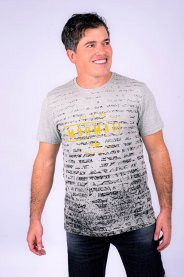 Imagem - Camiseta Masculina Manga Curta Mormaii Mescla