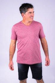 Imagem - Camiseta Masculina Manga Curta Rosa