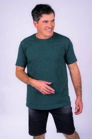 Imagem - Camiseta Masculina Manga Curta Verde Rajado