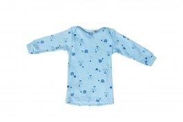 Imagem - Camiseta Pijama Bebê Menino Ribana Canelada Estampado