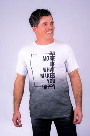 Imagem - Camiseta Visco Masculina Manga Curta Branca