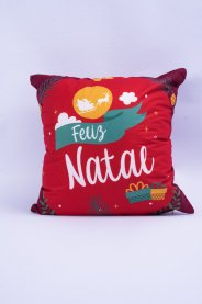 Imagem - Capa Almofada  Feliz Natal