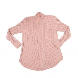 Imagem - Casaco Tricot Feminino Plus Size Rose