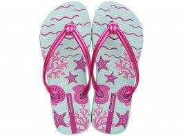 Imagem - Chinelo Ipanema Feminino Elo Print Estampa Tropical Verde e Pink
