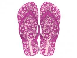 Imagem - Chinelo Ipanema Feminino Happy Estampa Floral Pink