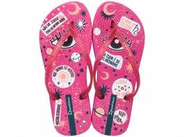 Imagem - Chinelo Ipanema Feminino Trendy Estampa Mística Pink com Glitter