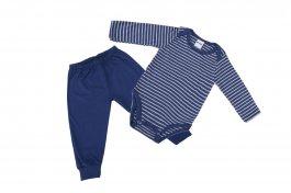 Imagem - Conjunto Bebê Menino Body e Calça Longo