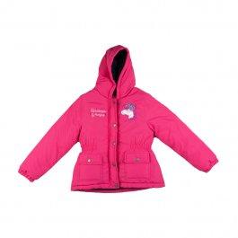 Imagem - Jaqueta Infantil Menina Pink com Forro Fleece