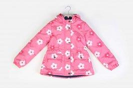 Imagem - Jaqueta Intantil Menina Rosa Com Forro Fleece e Capuz