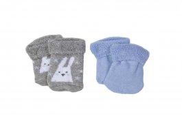 Imagem - Kit de meias c/2 Pares Meia Bebê Soft Menino