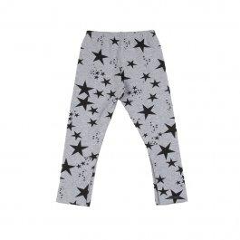 Imagem - Legging Bebê Molecotton mescla com Estampada de Estrelas