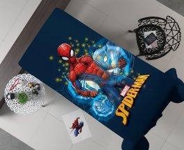 Imagem - Manta Decorativa Flanel Solteiro Spider Rever 150x220